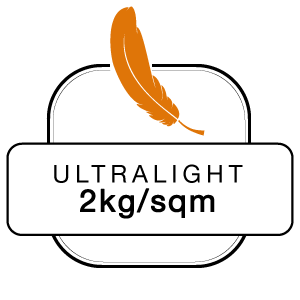 Ultralight 2kg sqm