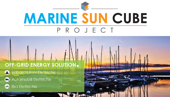 Marine Sun Cube Project for Green-Mobility