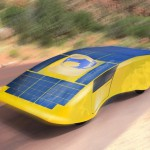 Solar Electric Car : Archimede Solar Car