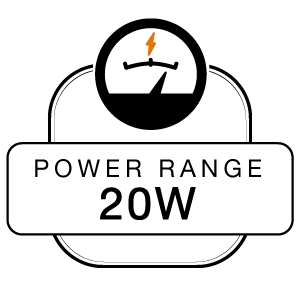 Power Range 20W