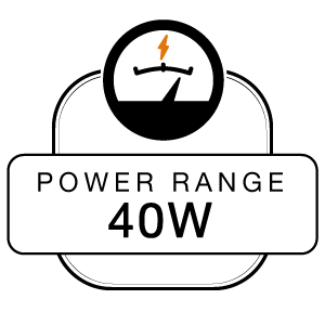 Power Range 40W