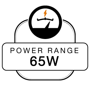 Power Range 65W