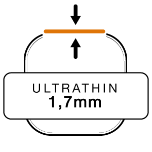 Ultrathin 1,7 mm